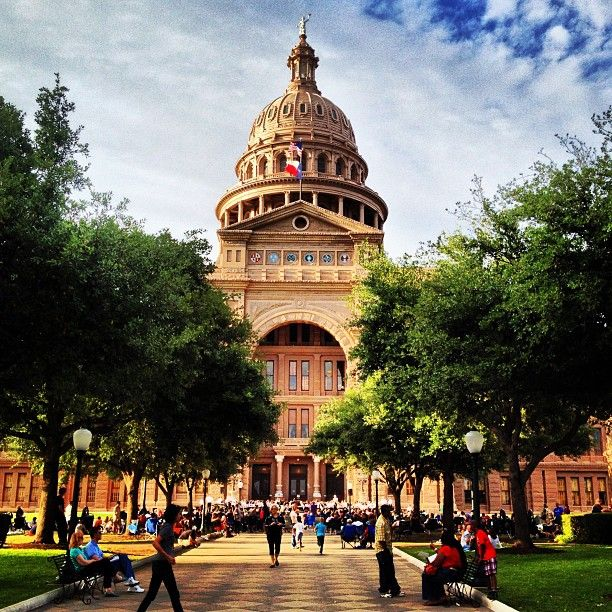 Texas State Capitol building in Austin: beautiful architecture wrapped in history.