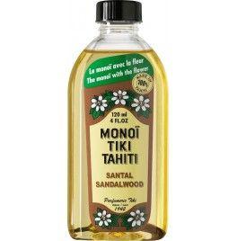 Ulei Monoi Tiare Tahiti original Santal 60 ml