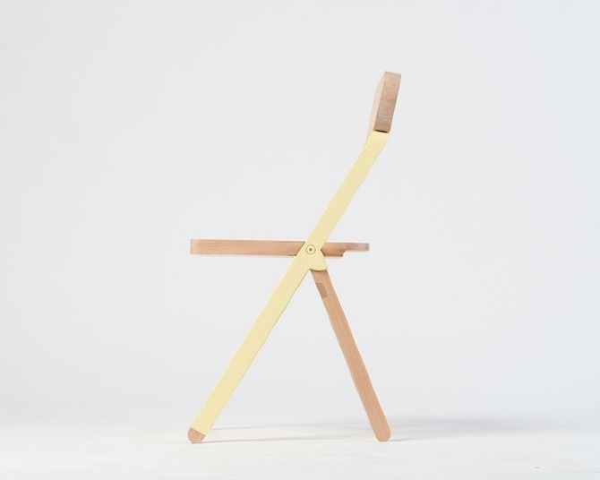 Profile Chair by Knauf and Braun in THISISPAPER MAGAZINE