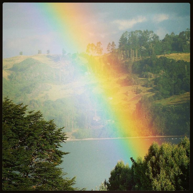 Wonderfull rainbow seen in everything #Chiloè photo by Carlos Gallegos Palma SURPRESS AGENCIA©