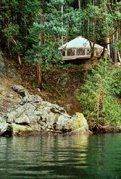 Yurt.