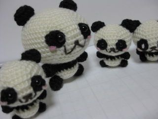 Oso Panda Amigurumi Patron Gratis : 66 best panda images on pinterest amigurumi patterns panda and