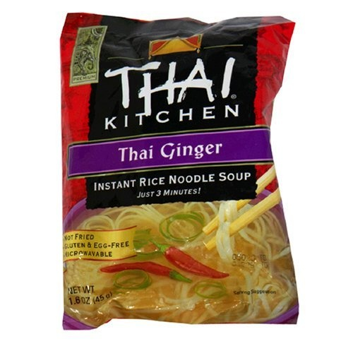 Thai Kitchen Thai Ginger Instant Rice Noodle Soup 1 6 Ounce Packages Pack Of 12 By Thai