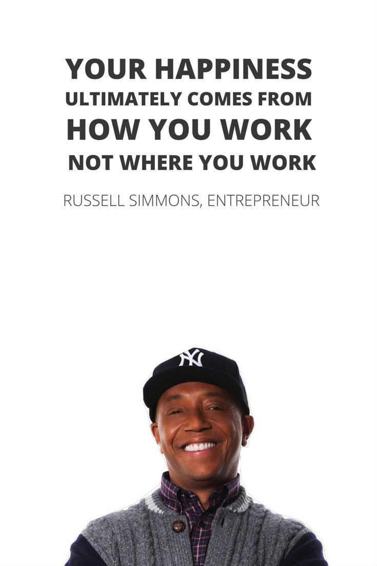 Russell Simmons on Happiness