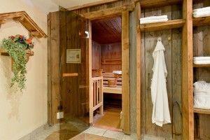 Eines der #Wellness-Angebote des Alpin Scheffaus: die #Sauna #wandern #entspannung #wanderung #spaziergang #fit #urlaub #tourismus #berge #tirol #alpen #wilderkaiser #bergsport #gesundheit #wellness