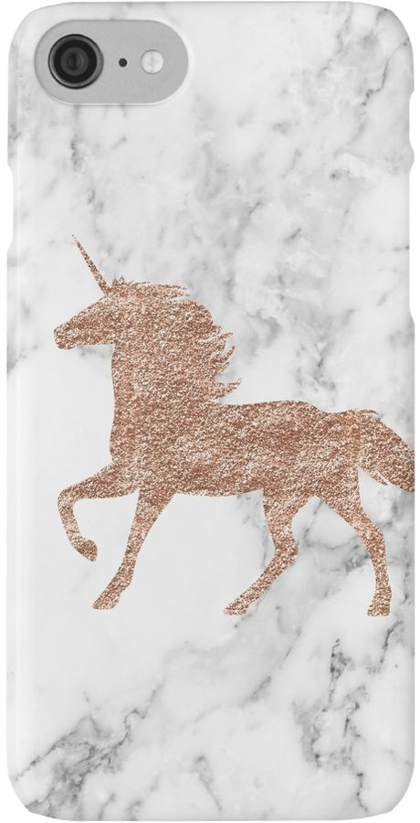 A stunning mystical unicorn on a marble backdrop. • Also buy this artwork on phone cases, apparel, stickers, and more.