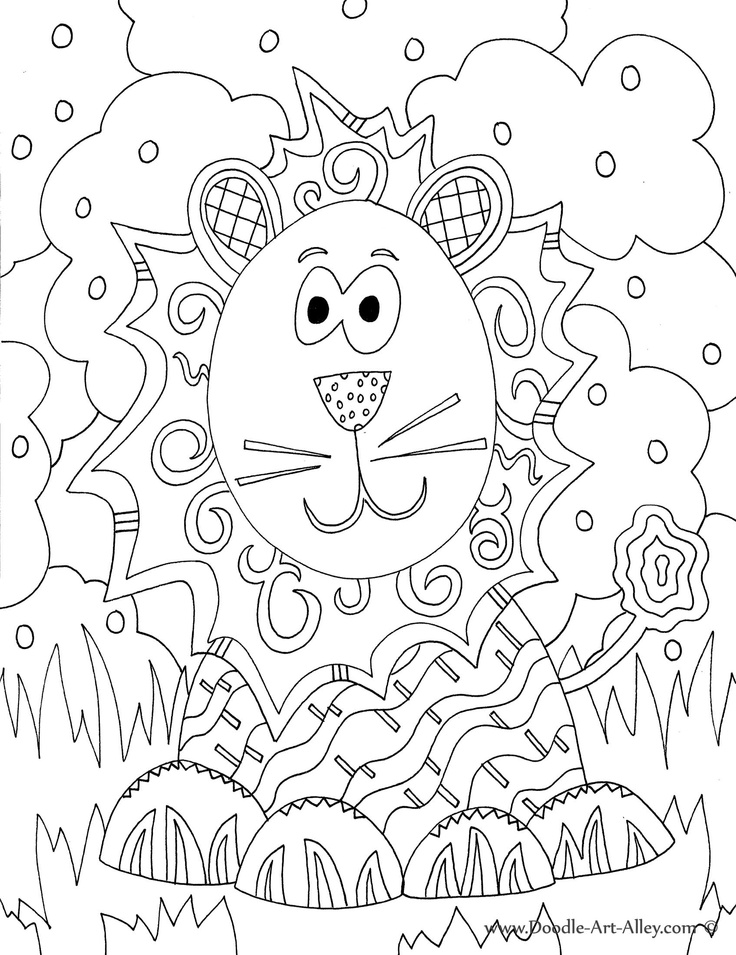 Coloring Pages Animals Mixed Up Chameleon And A Color Of