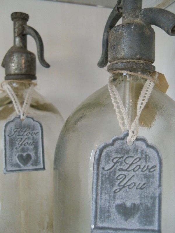 vintage bottles - spuitflessen