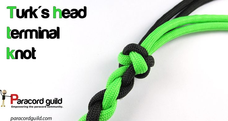 How to tie the turk's head terminal knot.