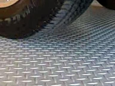 Garage Floor Mats - How to Choose the Best One for You: Textured garage floor mat.