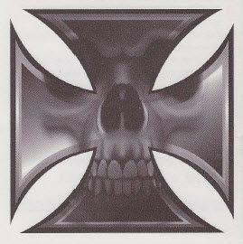 Skull and Cross Tattoo Designs | iron cross skull tattoo eisernes kreuz totenkopf tattoo crâne croix ...