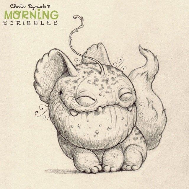 Good Mythical Morning In Spanish : Best morning scribbles images on pinterest monsters
