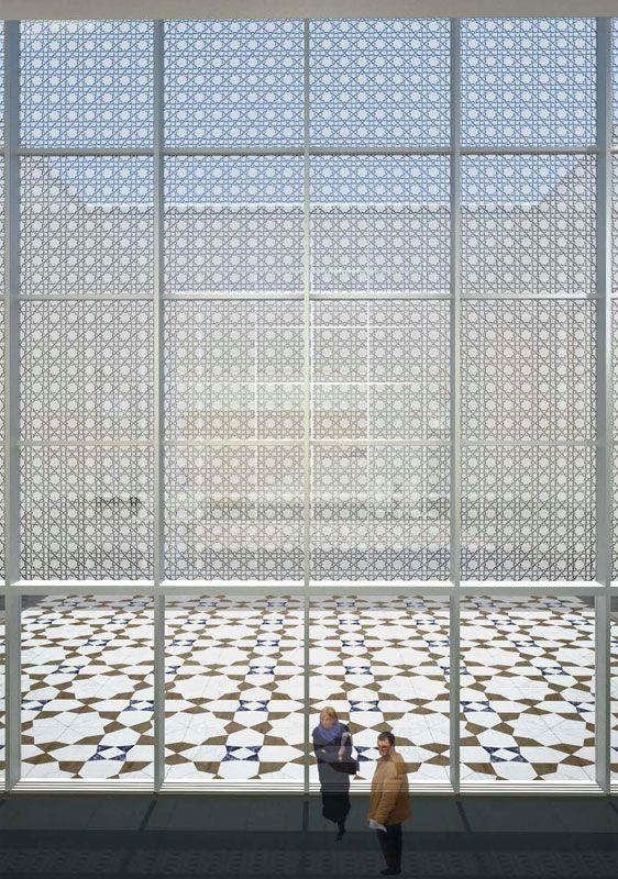 aga khan museum courtyard - Google Search