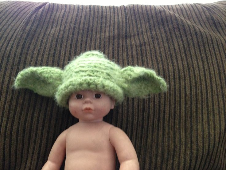 Baby Yoda Hat!!!  $10+ shipping.  Message me if you are interested!!!