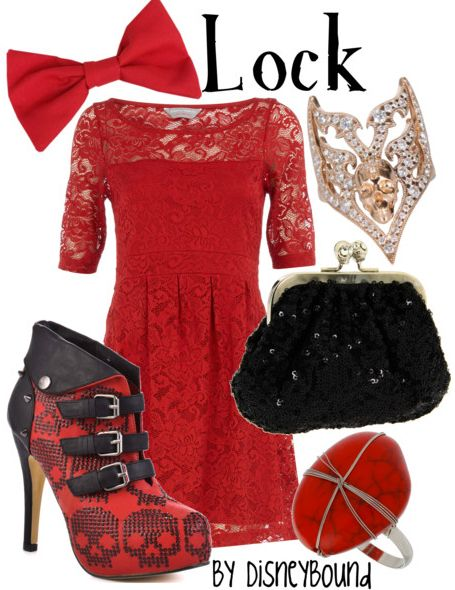Lock (from Nightmare Before Xmas) by Disney Bound
