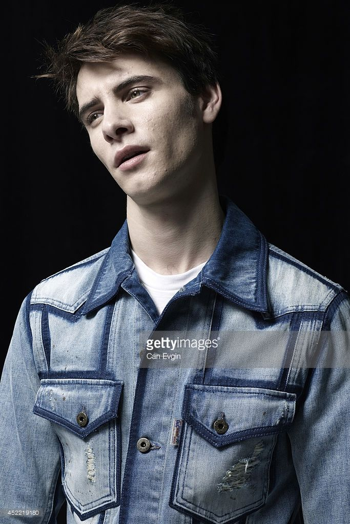 Actor Harry Lloyd is photographed for Wonderland in London, England.