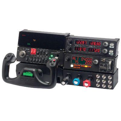 Ultimate Saitek Flight Simulator System