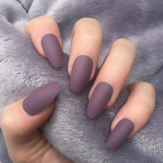 Feb 6, 2020 - Almond Matt nails are easy to see in the street. They are one of the most popular nail shapes in recent years. This nail shape is named almond because it resembles a real almond shape. The almond shape is considered to be an easy-to-use nail shape b