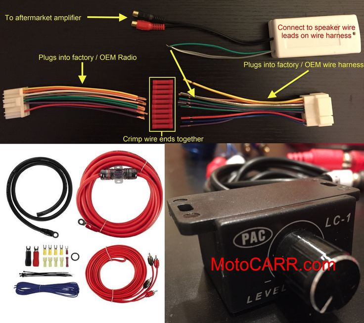 Honda Acura Factory Radio Add an Amplifier Interface