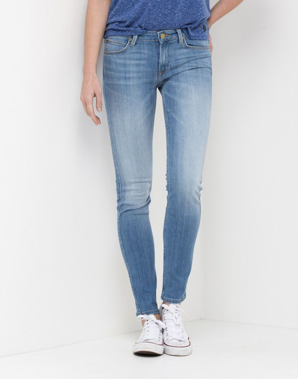 Scarlett Regular Waist Skinny | Bright Blue