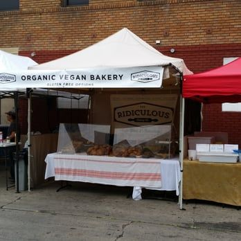 Gluten Free/Vegan bakery at Hollywood Farmer's Market (Selma)  Rediculous Baking Co