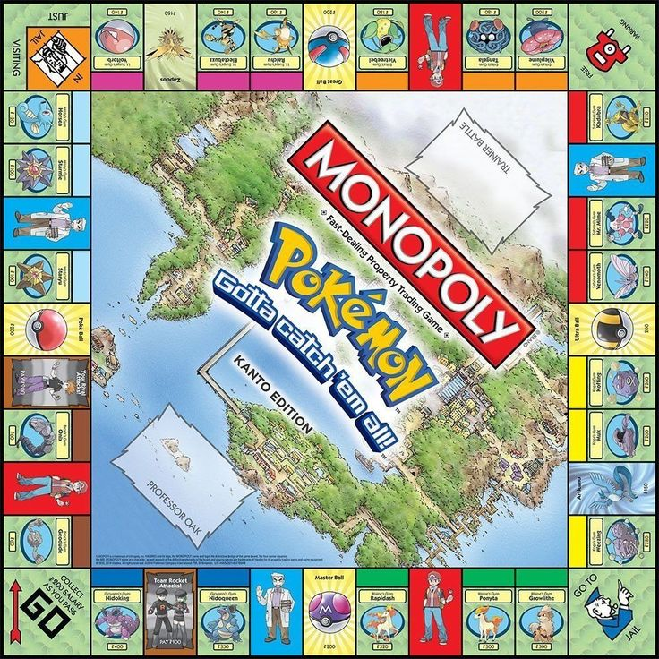 Monopoly Collectors Special Edition - Pokemon (Kanto). Visit us now and ENJOY 10% OFF + FREE SHIPPING on all orders