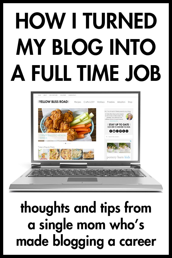 How I Turned My Blog Into a Full Time Job 2