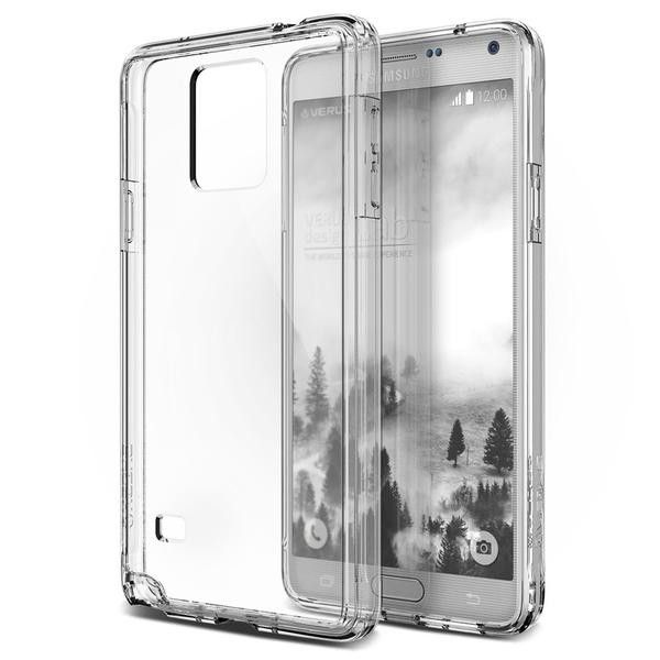 VRS Crystal Mixx Series Samsung Galaxy Note 4 Case - Clear