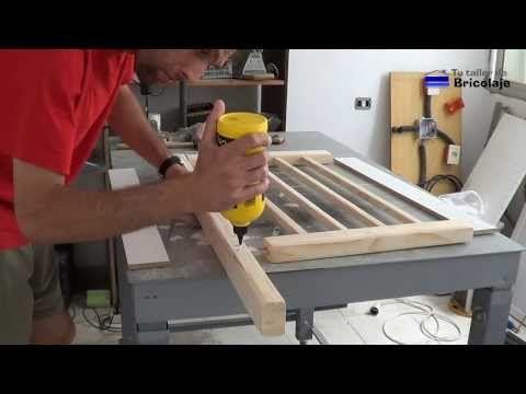 cómo hacer una cuna colecho. 1ª parte. - YouTube