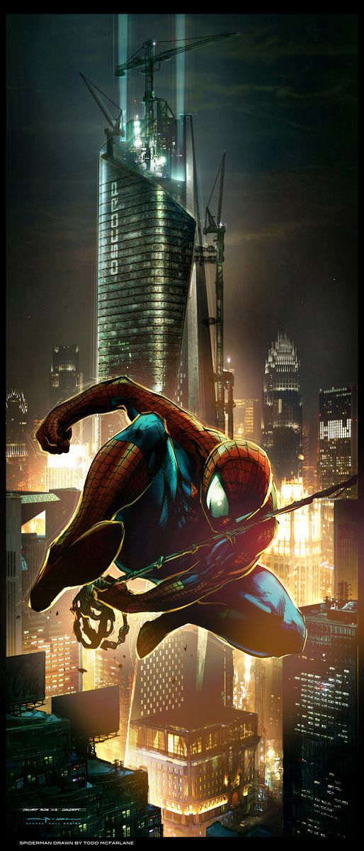The Amazing Spider-Man Concept Art de George Hull