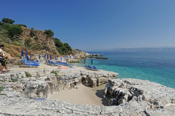 Bataria Beach is one of the most picturesque beaches on Corfu Island. #beaches, #landscape, #greekislands, #greece, #hdrphotography, #hdr, #sidari, #corfu, #palaiokastritsa, #kassiopi, #bataria