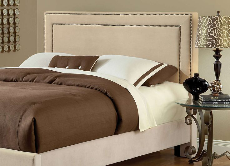 Amber Upholstered Headboard (Buckwheat)   The Amber Bed Is Fashionable And  Comfortable. An