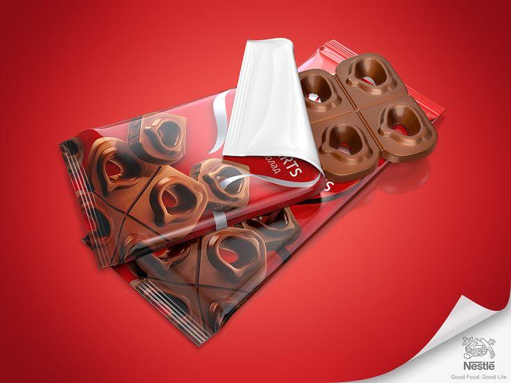 Nestle Sweet Hearts on Behance