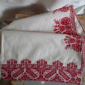 Transylvanian Dowry Bed Pillow case 100 x 46cm-parna