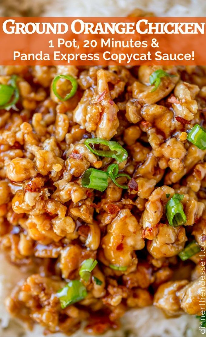 22073 best no boring boneless skinless chicken breasts images on we loved this ground orange chicken full of panda express orange chicken sauce and in forumfinder Image collections