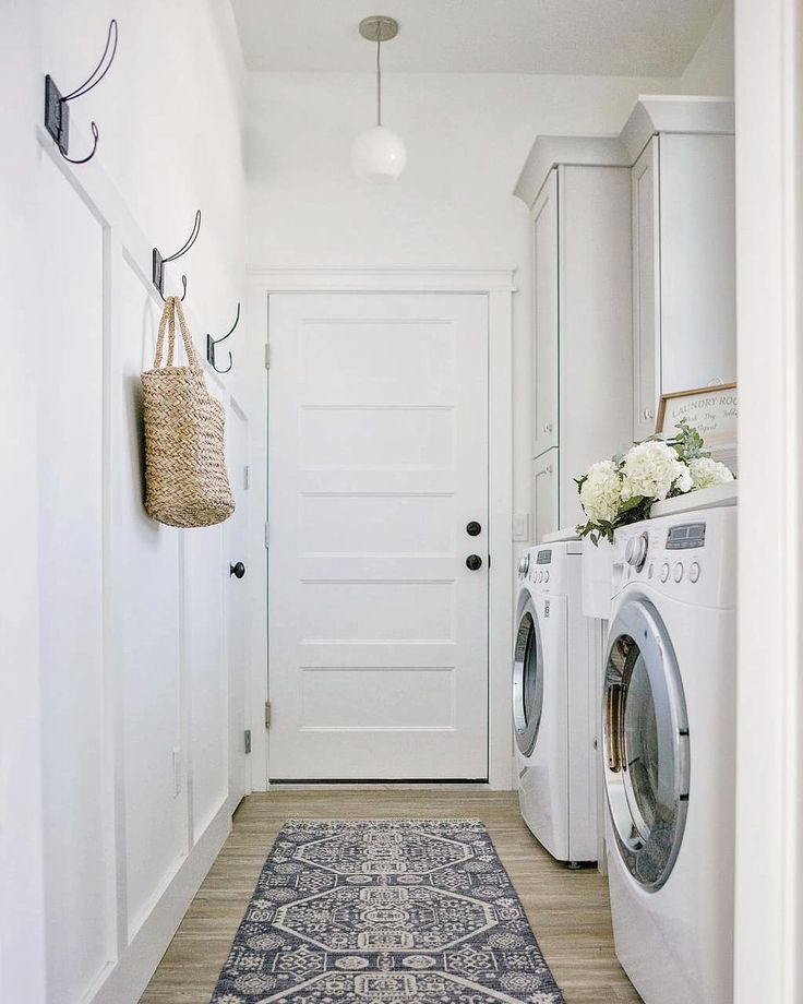Clean And Modern Laundry Room By Jess On Instagram Carcabaroad