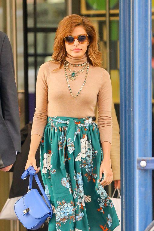 Le coup de gueule d'Eva Mendes : ne jugez pas le style des femmes enceintes !