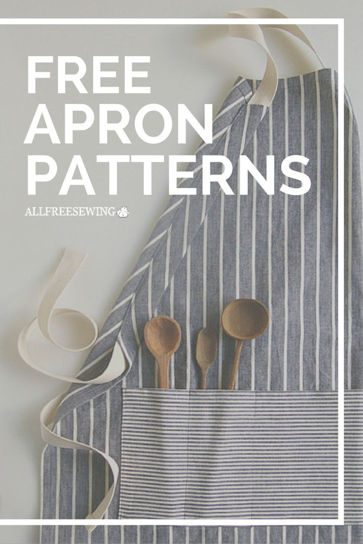 These free apron patterns will show you how to sew a variety of aprons in every style you could imagine.