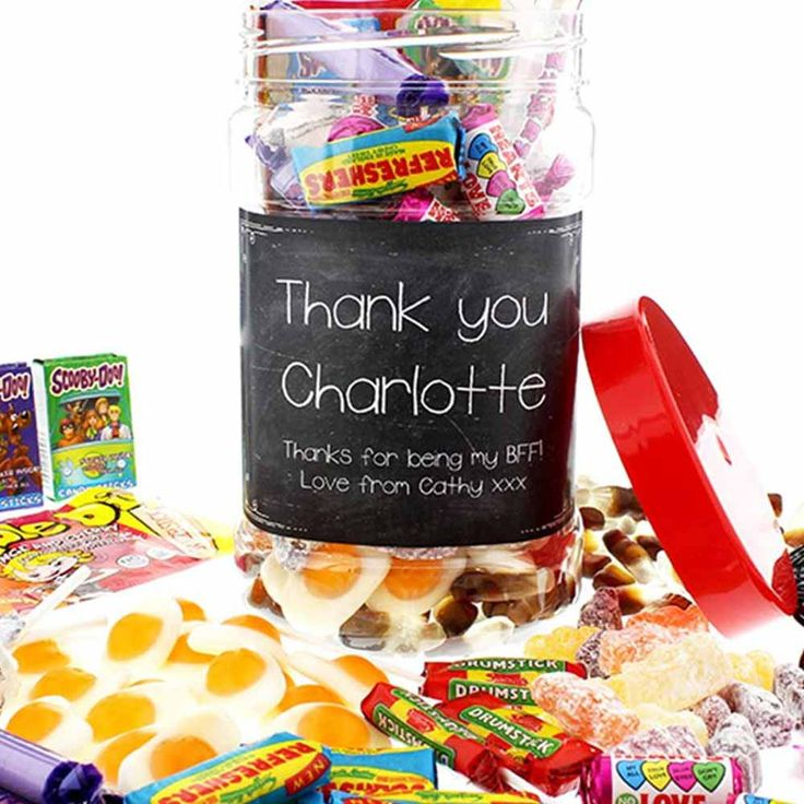 I Just Love It Personalised Thank You Sweet Jar Personalised Thank You Sweet Jar - Gift Details. If theyve gone out of their way to help you out reward them with this incredible Personalised Thank You Sweet Jar!. Full to the brim with retro sweet  http://www.MightGet.com/january-2017-11/i-just-love-it-personalised-thank-you-sweet-jar.asp