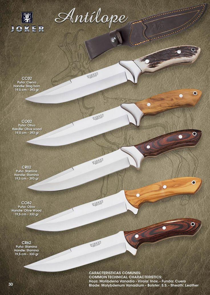 cuchillos tacticos y caza cuchillos monte - ANTILOPE 1 - Joker - Cuchilleria Albacete