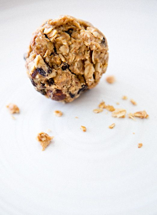 oat balls- a healthy, tasty breakfast for those mornings when you're on the go!