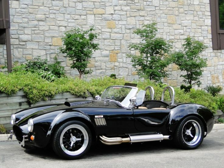 1965 Shelby AC Cobra Backdraft  For those who don't know, they were never built with a ROOF!! yaay