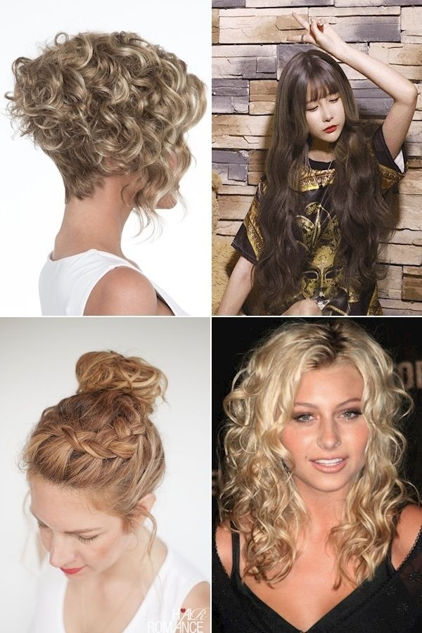 Haircuts For Naturally Curly Hair Good Hairstyles For Short Curly Hair Different Types Of Hairsty In 2020 Hair Styles Curly Hair Styles Curly Hair Styles Naturally