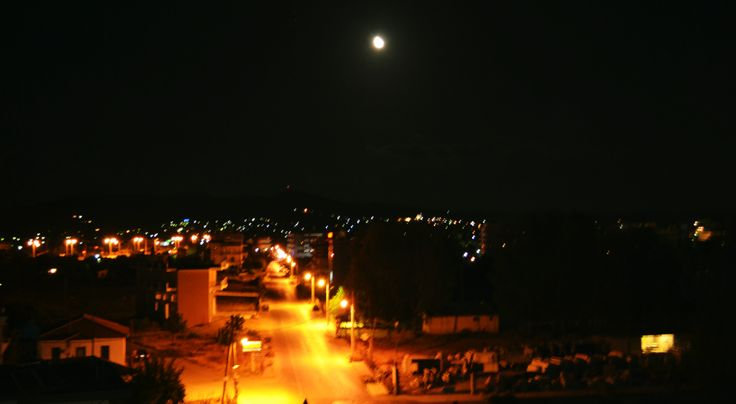 pyrgos at night