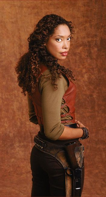 Gina Torres--forever kicking much @$$ in every role she plays