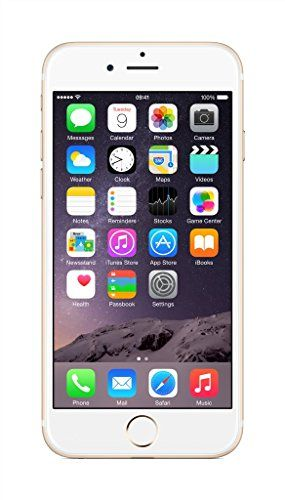 cool Apple iPhone 6 Gold 128GB (UK Version) SIM-Free Smartphone