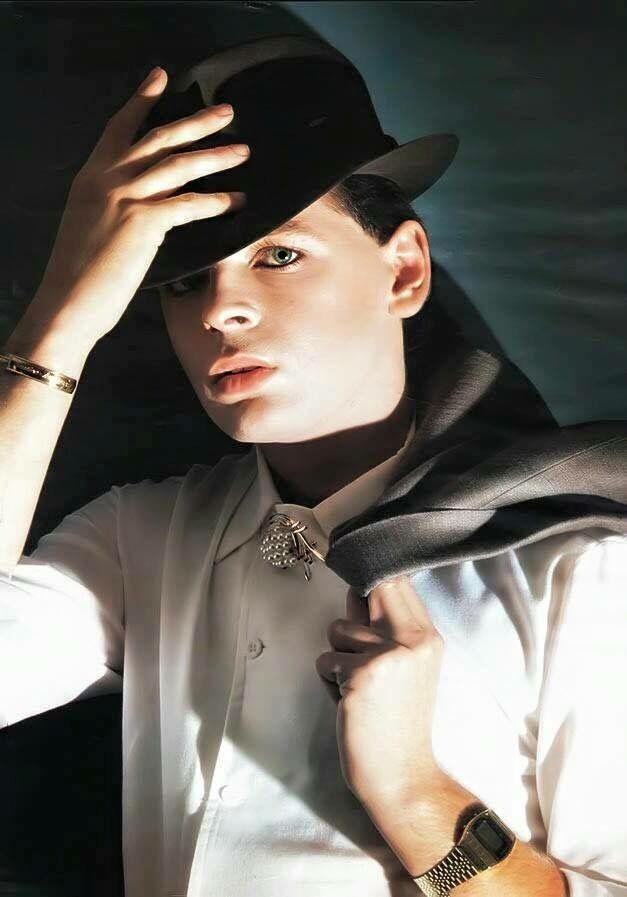 Gary Numan in the I, Assassin. .MORE AT --https://uk.pinterest.com/garylaundy/gary-numan-scrapbook/