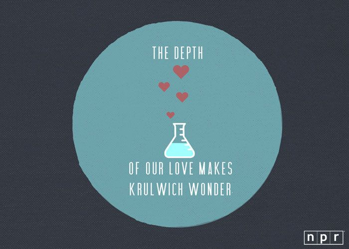 the depth of our love makes krulwich wonder from npr pins