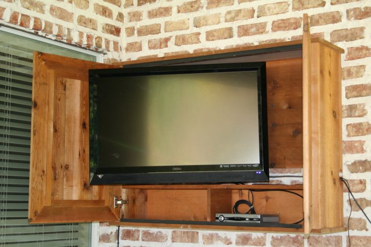 Interesting Outdoor TV Cabinet
