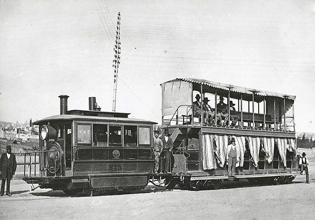 Botany tramway